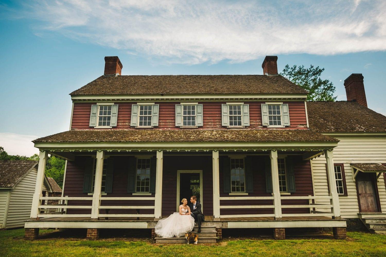 Old house wedding venue