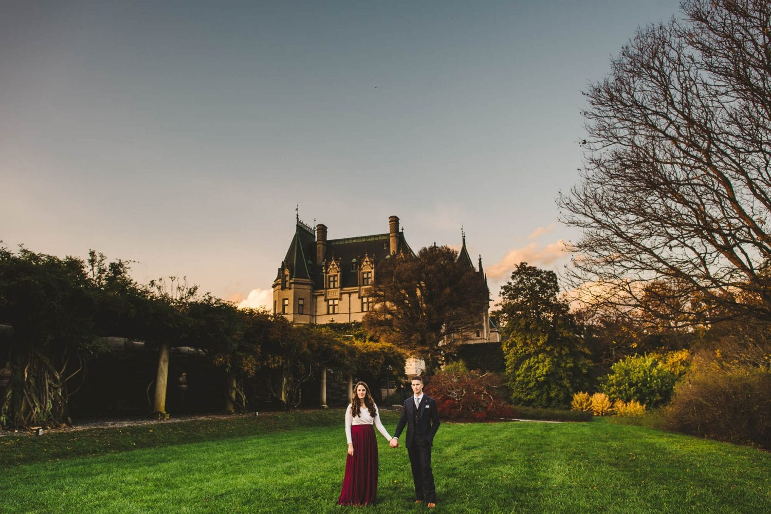 Photo session at Biltmore