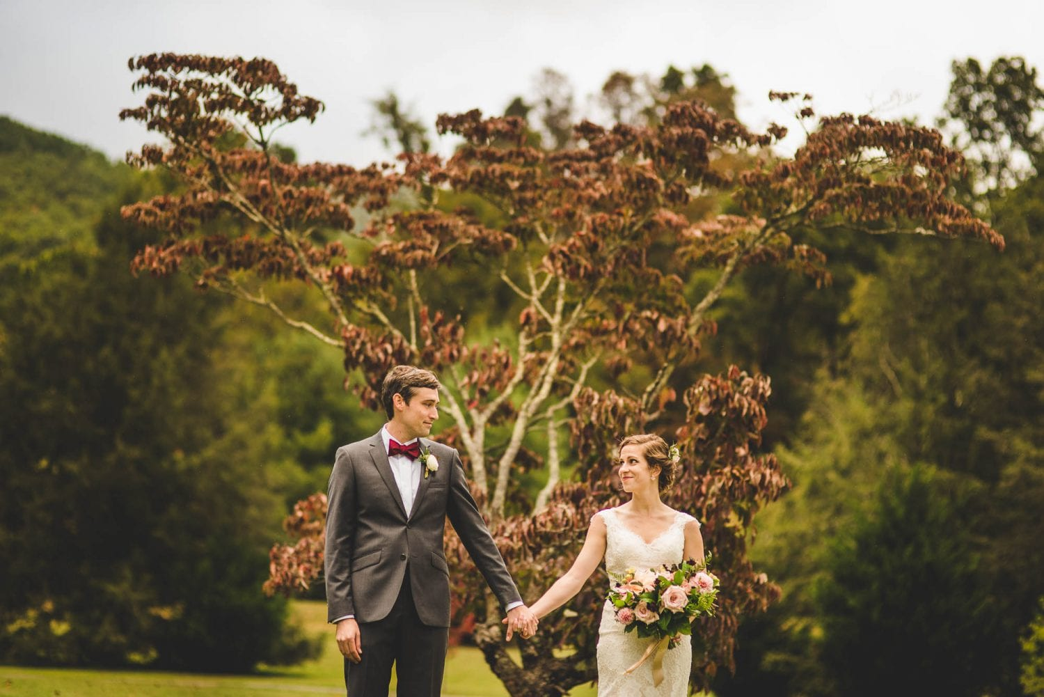 Lake Eden wedding in Black Mountain
