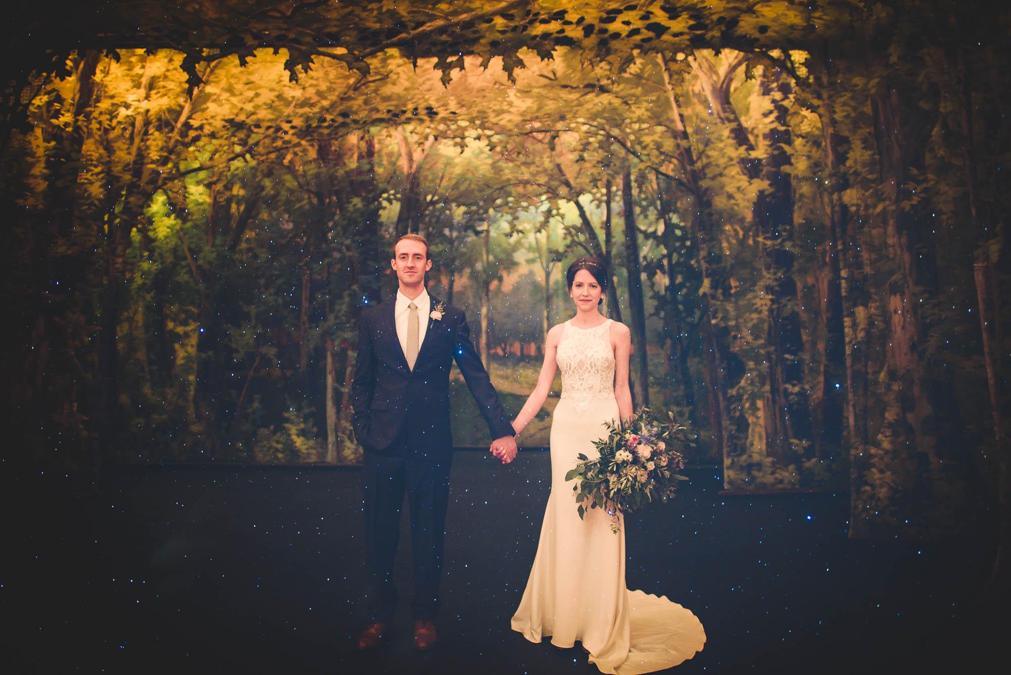 Asheville Masonic Temple wedding photographers