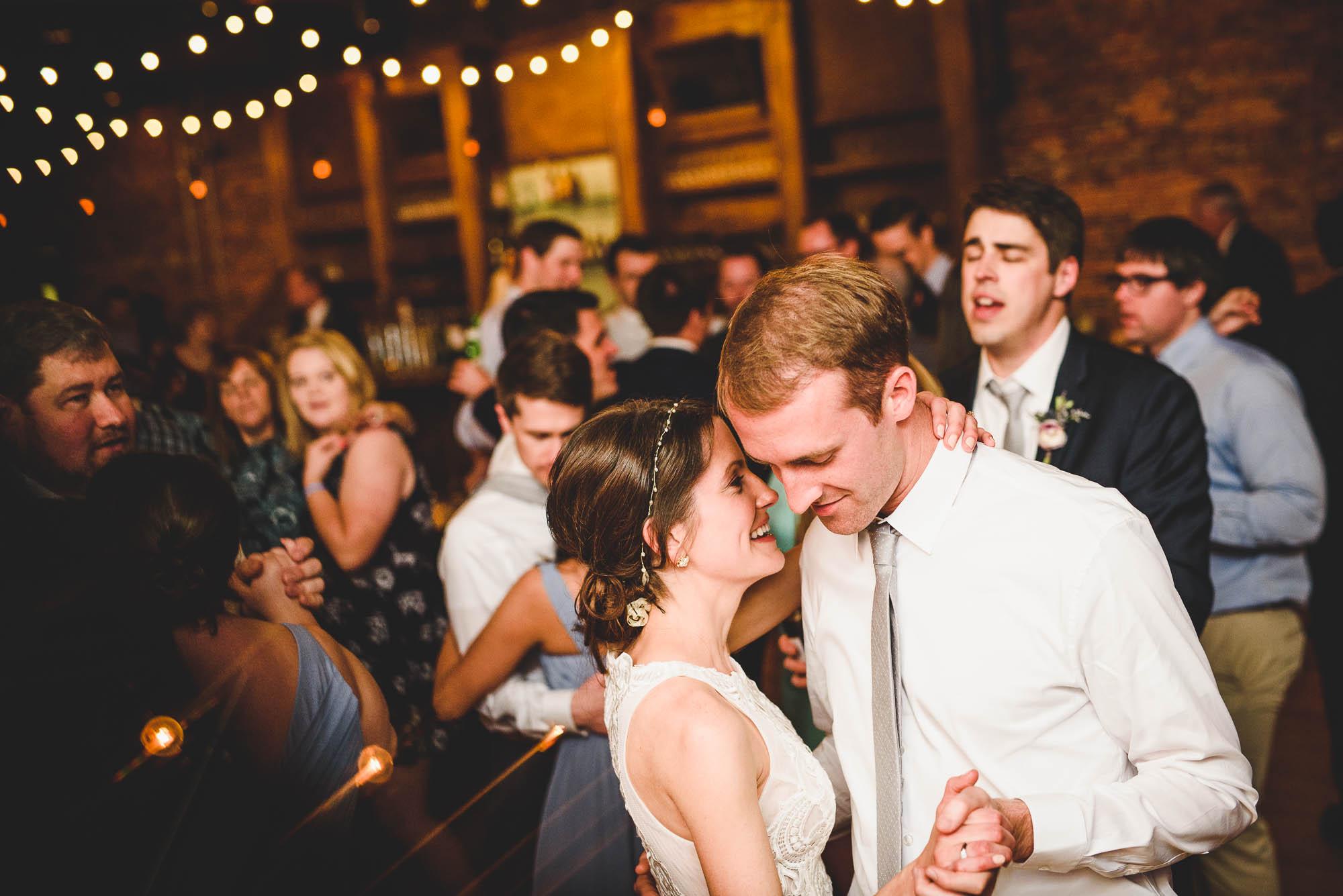 Century Room wedding reception