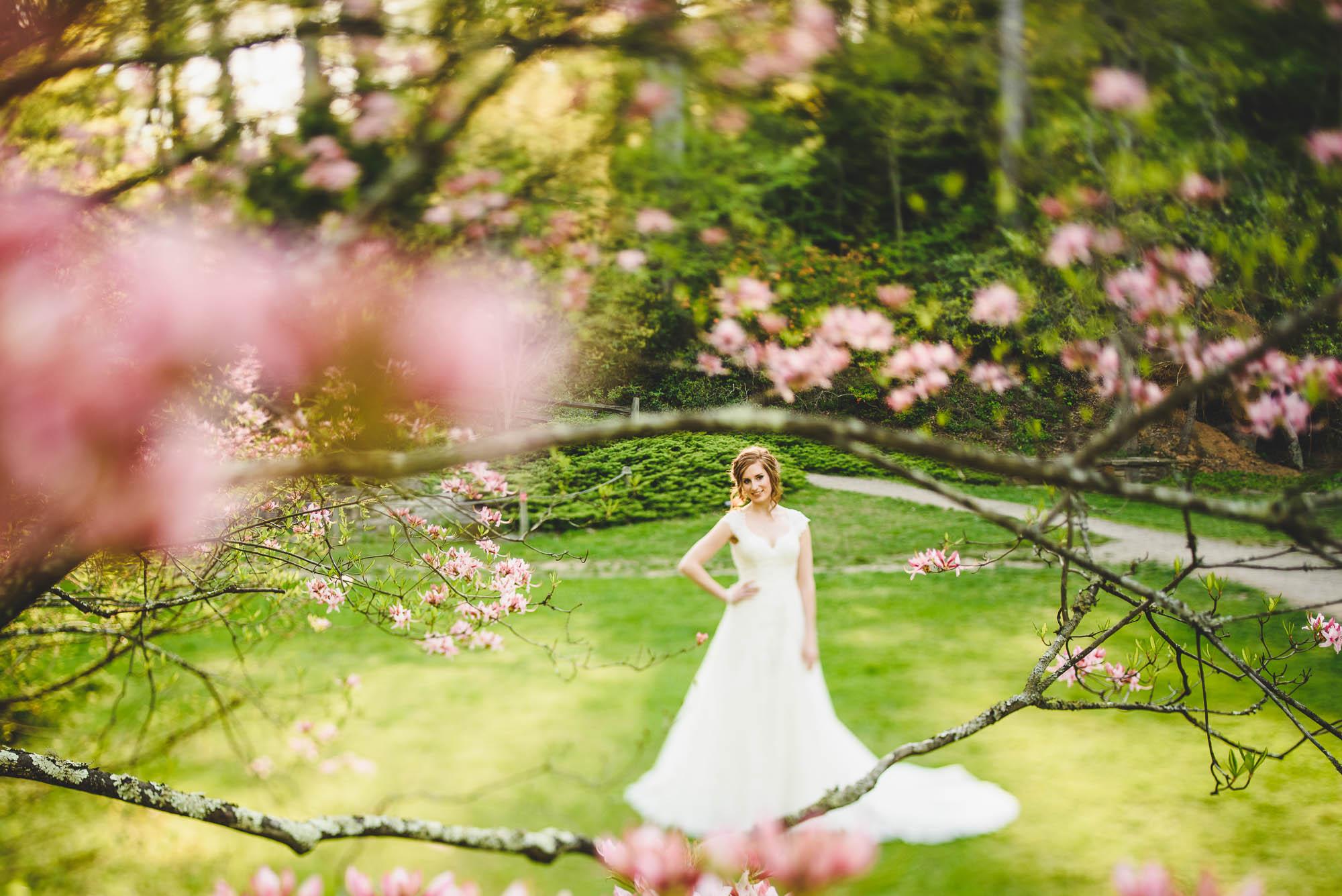 Tilt shift bride