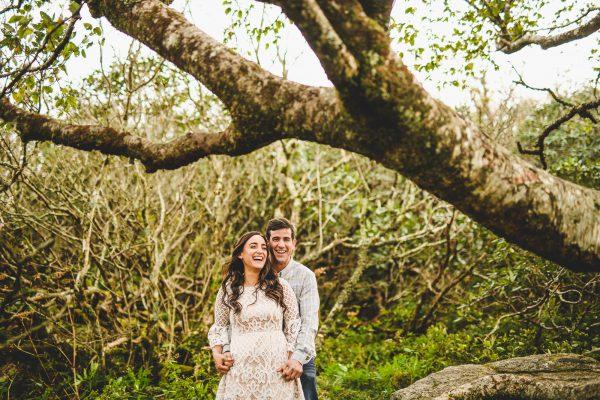 Craggy Gardens Engagement Photos