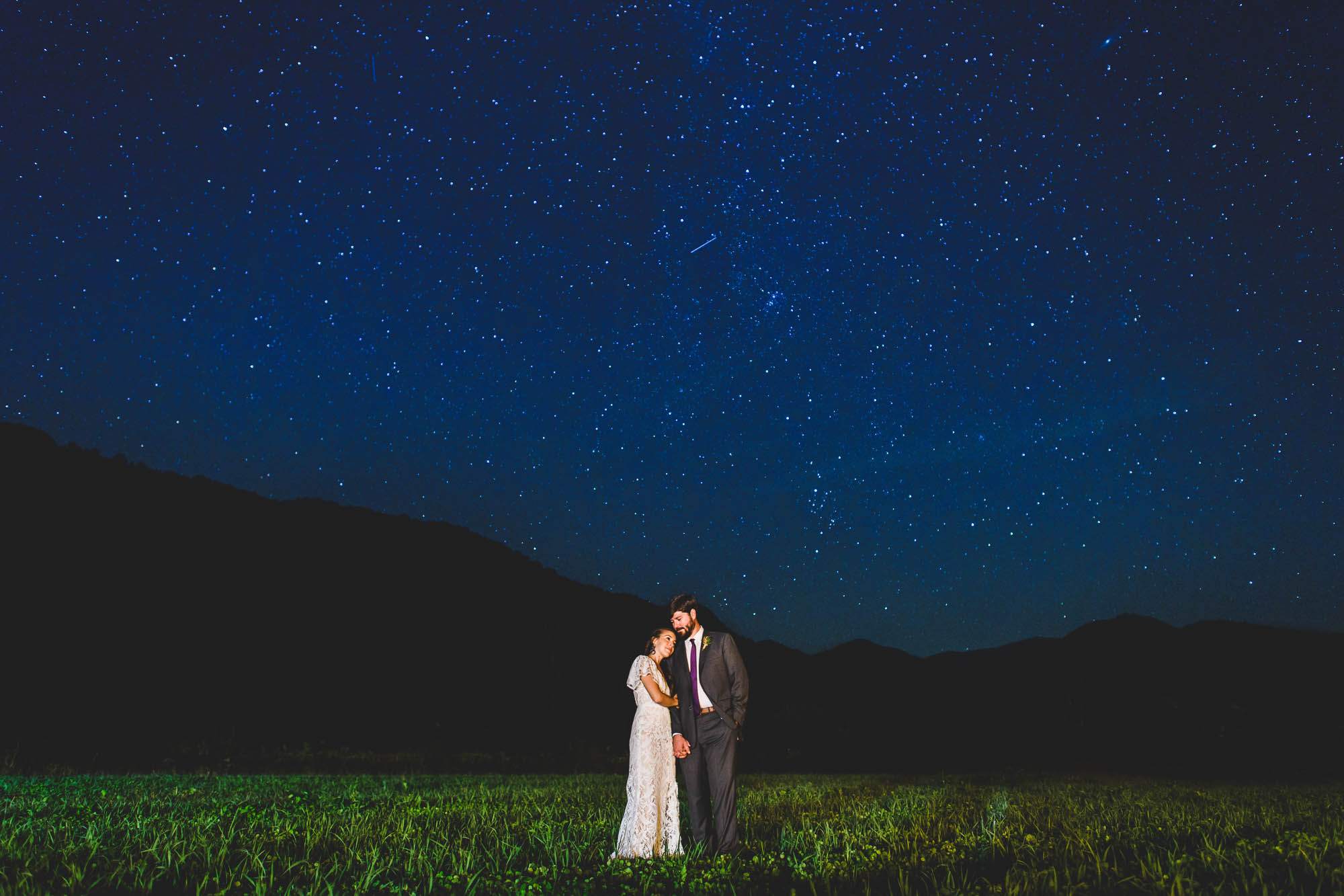 Wedding stars photo