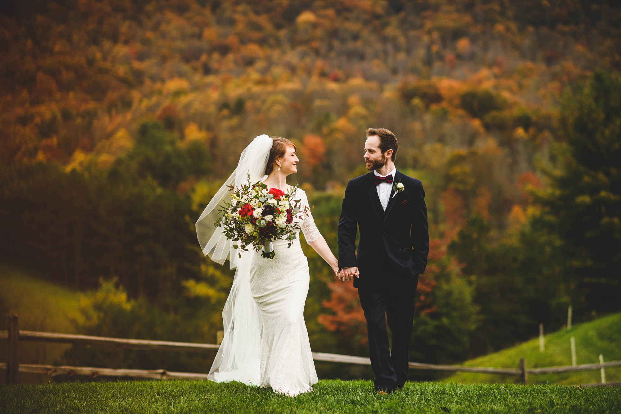 Waynesville, NC wedding
