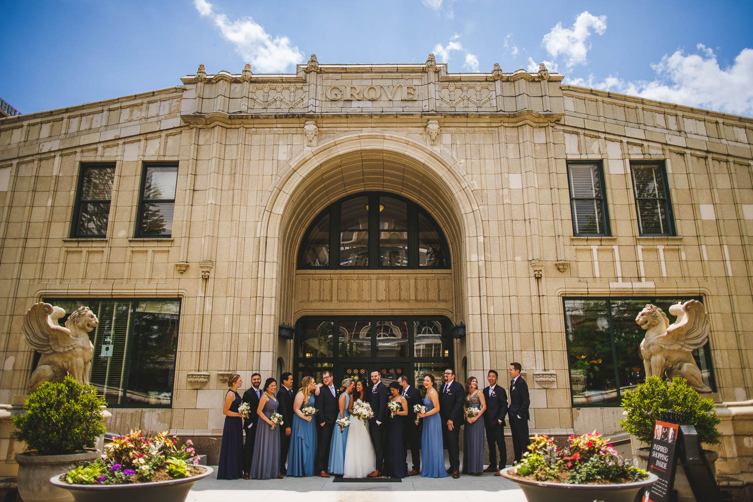 Grove Arcade wedding
