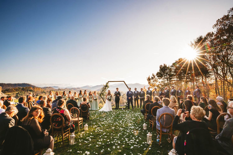 Ceremony at the Ridge