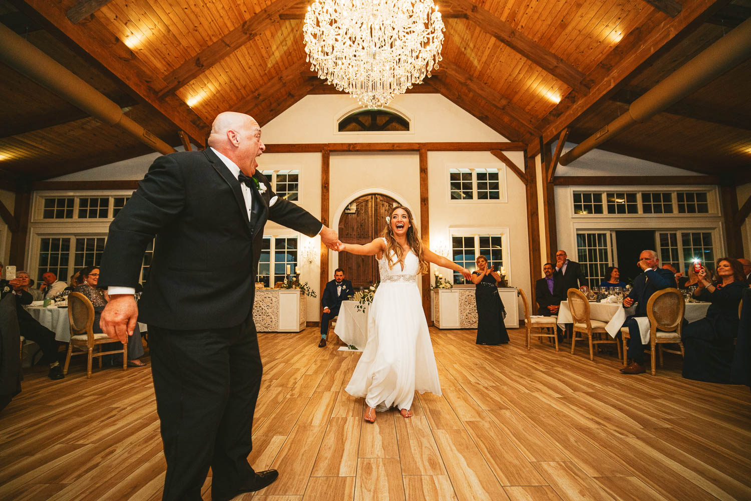 Father daughter dance at The Chateau